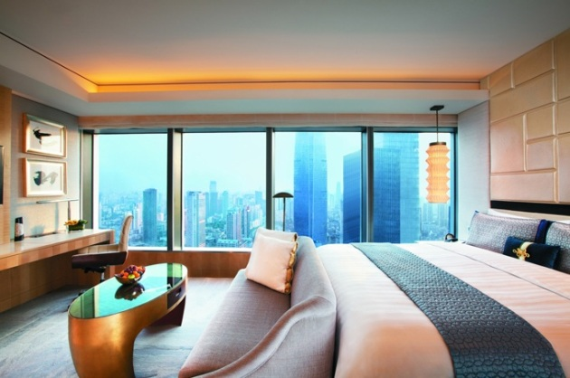 Jing-Ang Shangri-La Hotel, Shanghai, China - Hirsch Bedner Associates